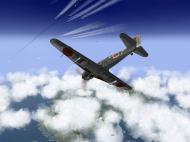 Asisbiz IL2 RO Ki 100 59 Sentai W47 makes rear attack on 20AF B 29s Japan V01