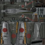 Asisbiz IL2 RO Ki 100 I Kou 59 Sentai 2 Chutai W47 Kyushuata Japan 1945