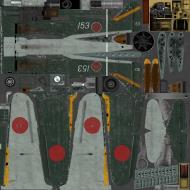 Asisbiz IL2 TF Ki 100 59 Sentai 3 Chutai White 153 Naoyuki Ogata Japan 1945