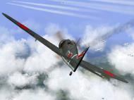 Asisbiz IL2 TF Ki 100 59 Sentai W177 attacks B 29s from 7 O clock high Japan V04
