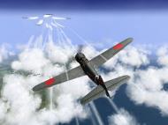 Asisbiz IL2 TF Ki 100 59 Sentai W177 goes head to head with B 29 superfortress V04