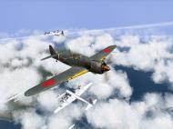 Asisbiz IL2 TF Ki 100 59 Sentai W177 goes head to head with B 29 superfortress V07