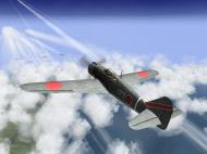 Asisbiz IL2 TF Ki 100 59 Sentai W177 goes head to head with B 29 superfortress V08