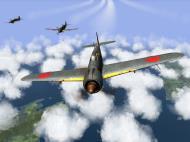 Asisbiz IL2 TF Ki 100 59 Sentai W177 high altitude patrol over Japan V03