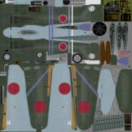 Asisbiz IL2 B7 Ki 100 I Otsu Akeno hikoshidan hikotai Yohei Hinoki Nagoya 1945