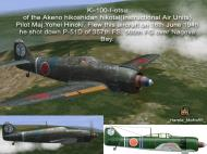 Asisbiz IL2 HM Ki 100 I Otsu Akeno hikoshidan hikotai Yohei Hinoki Nagoya 1945 V0A