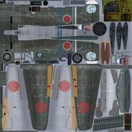Asisbiz IL2 HM Ki 100 I Otsu Akeno hikoshidan hikotai Yohei Hinoki Nagoya 1945
