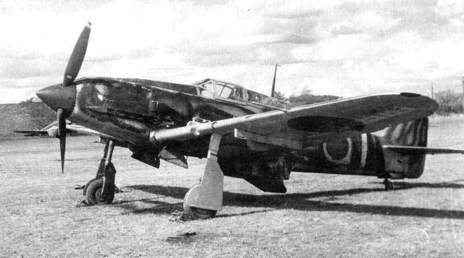 Kawasaki-Ki-61-Hien-allied-code-name-Ton