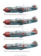Asisbiz Lavochkin La 5 profiles from LaGG n Lavochkin Aces of World War 2 Osprey Aces 56 page 56
