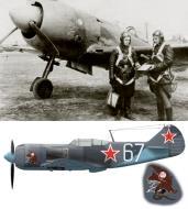 Asisbiz Lavochkin La 7 113GvIAP 10GIAD Silver 67 PM Boykov Czechoslovakia 1945 0A