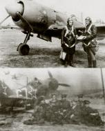 Asisbiz Lavochkin La 7 113GvIAP 10GIAD Silver 67 with PM Boykov in Czechoslovakia 1945 01