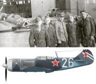 Asisbiz Lavochkin La 7 137GvIAP 3GIAD Silver 26 and Silver 56 spring 1945 0A
