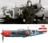 Asisbiz Lavochkin La 7 156IAP 215IAD White 57 Lt Shibanov April 1945 0A
