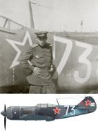Asisbiz Lavochkin La 7 163GvIAP 229IAD Silver 73 flown by pilot NM Onopchenko 1945 0A