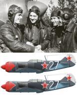 Asisbiz Lavochkin La 7 176GvIAP Ivan Kozhedub being congratulated on his last victory over Kustrin 17 Apr 1945 0A