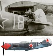 Asisbiz Lavochkin La 7 176GvIAP White 18 with AS Kumanichkin Germany 1945 0A