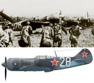 Asisbiz Lavochkin La 7 17IAP Pacific Fleet Silver 28 Aug 1945 0A