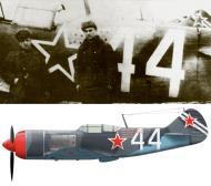 Asisbiz Lavochkin La 7 482IAP 322IAD White 44 flown by Vitalij I Korolev Prague 1945 0A