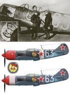 Asisbiz Lavochkin La 7 813IAP 215IAD Silver 63 with LtGen AS Osipenko July 1944 0A