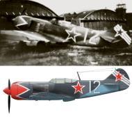 Asisbiz Lavochkin La 7 937IAP 322IAD Silver 12 flown by LtCol FM Kosolapov at Prague Kbely 1945 0A