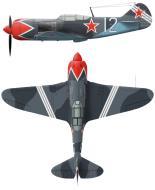 Asisbiz Lavochkin La 7 937IAP 322IAD Silver 12 flown by LtCol FM Kosolapov at Prague Kbely 1945 0B