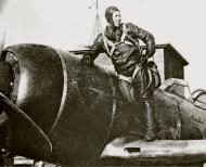 Asisbiz Lavochkin La 7 9GvIAP White 14 Capt Aleksei Alelyukhin at Moscow July 1944 01