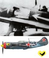 Asisbiz Lavochkin La 7 9GvIAP White 23 Capt PY Golovachev cmdr at Moscow July 1944 0A