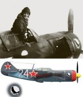 Asisbiz Lavochkin La 7 9GvIAP White 24 Maj Sultan Amet Khan in East Prussia Dec 1944 0A