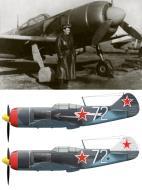 Asisbiz Lavochkin La 7 9GvIAP White 72 with pilot NG Ostapchenko 1945 01