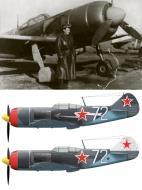 Asisbiz Lavochkin La 7 9GvIAP White 72 with pilot NG Ostapchenko 1945 0A