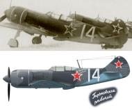 Asisbiz Lavochkin La 7 Zavod 21 factory aircraft White 14 slogan Gorkovskiy rabochiy Apr 1945 0A