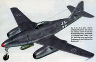 Asisbiz Messerschmitt Me 262A1a 2.EJG2 Black F Wilhelm Batel WNr 130179 Lechfeld Germany 1944 0A