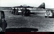 Asisbiz Messerschmitt Me 262A1a III.EJG2 Red 13 Gruppenkommodore Heinz Bar WNr 110559 Lager Lechfeld Mar 1945 01