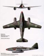 Asisbiz Messerschmitt Me 262A1a III.EJG2 Red 13 Gruppenkommodore Heinz Bar WNr 110559 Lager Lechfeld Mar 1945 0B