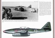 Asisbiz Messerschmitt Me 262A1a Schwalbe EJG2 Red 13 WNr 110559 Heinz Bar Lechfeld 1945 by Revi 83 0A