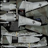 Asisbiz IL2 AA Me 262A1a 1.JG7 White 2 Erich Hohagen Germany 1945