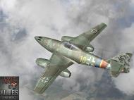 Asisbiz IL2 AA Me 262A1a 9.JG7 (Y10+I) Rudolf Rademacher Rotenburg Germany 1945 V0A