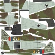 Asisbiz IL2 CS Me 262A1a 9.JG7 Hermann Buchner Rotenburg Germany April 8 1945