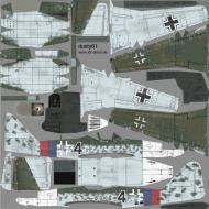 Asisbiz IL2 DY Me 262A1a 2.JG7 Black 4 Germany 1945