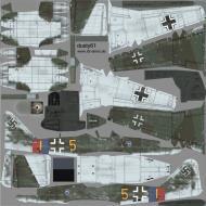 Asisbiz IL2 DY Me 262A1a 9.JG7 (Y5+I) WNr 110007 Germany 1945