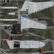 Asisbiz IL2 HM Me 262A1a Stab III.JG7 ((+I Blue 1 Rudolf Sinner Parchim Mar 1945 NM