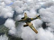 Asisbiz IL2 HS Me 262A 1.JG7 White 2 Erich Hohagen defending the Reichs Airfields V01