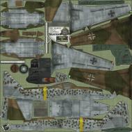 Asisbiz IL2 HS Me 262A1a 1.JG7 White 2 Erich Hohagen Germany 1945 NS