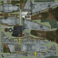 Asisbiz IL2 HS Me 262A1a 1.JG7 White 2 Erich Hohagen Germany 1945