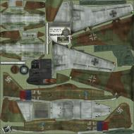 Asisbiz IL2 HS Me 262A1a Stab JG7 (+Green 3 Germany 1944