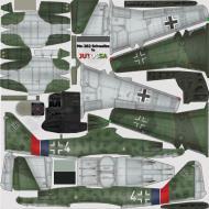 Asisbiz IL2 JA Me 262A1a 7.JG7 White 4+I Germany 1945