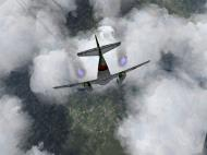 Asisbiz IL2 JA Me 262A1a 9.JG7 Yellow 5 diving on 8AF B 17s V01