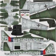 Asisbiz IL2 JA Me 262A1a Stab JG7 (+Germany 1945
