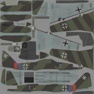Asisbiz IL2 NN Me 262A1a Stab III.JG7 ((+I Blue 1 Rudolf Sinner Parchim Mar 1945