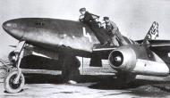 Asisbiz Messerschmitt Me 262A1a Schwalbe JG7 White 4 Achmer Germany 1944 01
